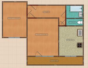Серия блочных домов и-522а и планировки квартир в них.