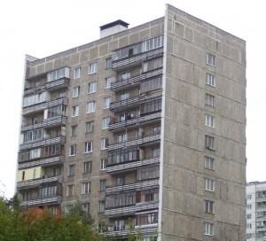 """При увеличении фото можно увидеть что стены дома состоят не из панелей """"во всю квартиру"""", а из небольших """"блоков"""""""