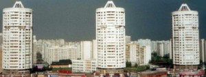 """Башни серии """"Колос"""" в Марьино"""
