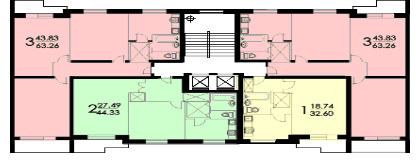 Дома серии ii-57, планировки квартир ii-57.