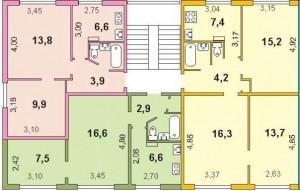 Планировка квартир в 467