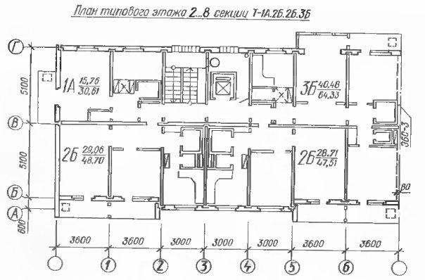 Дома 134 серии (111-134)