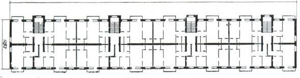 Ii-28 серия кирпичных пятиэтажек, планировки квартир.