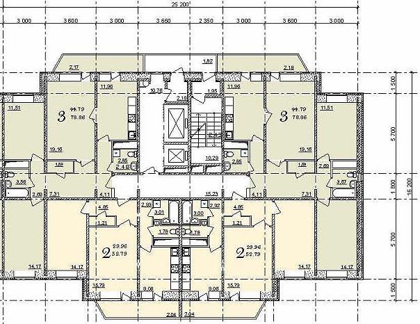 Планировка в жилых домах серии с-220. характеристики типовых.