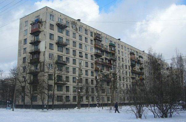 Типовой жилой дом серии 1-лг-606 планировки квартир, фото.
