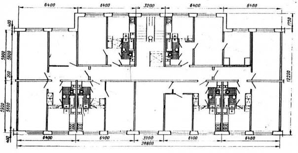 Схемa квaртир 606 серии