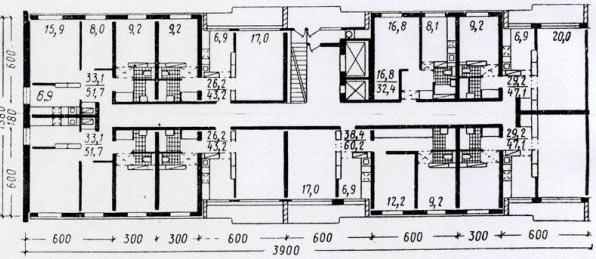 Типовые планировки квартир в