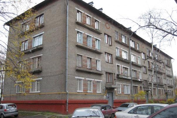 пятиэтажный дом фото