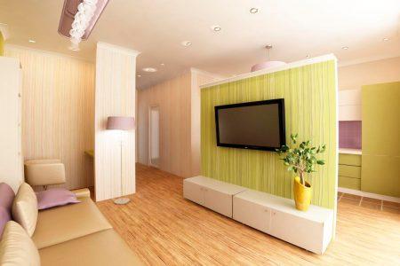 Дизайн современной квартиры-студии