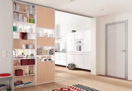 Шкаф-перегородка в квартире