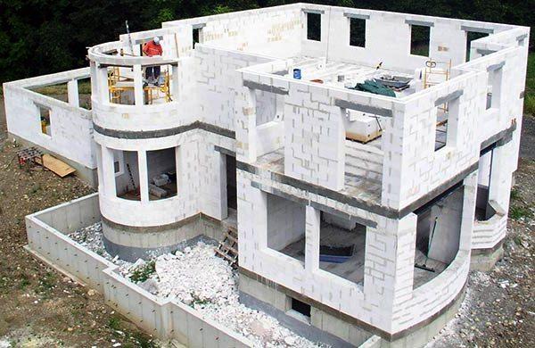 Частные дома из газосиликатных блоков