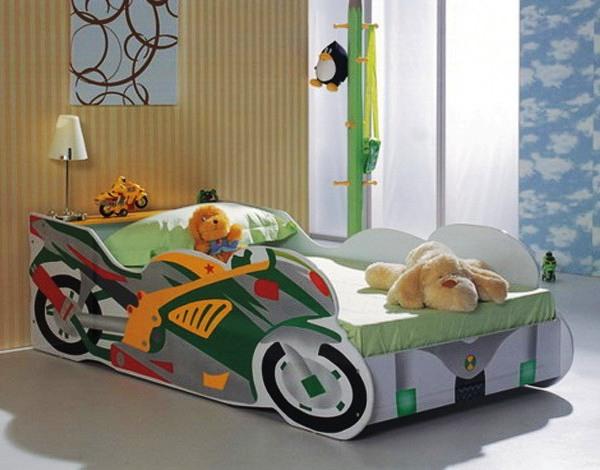 Дизайн детской кровати — машины своими руками