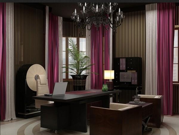 Домашний кабинет, интерьер