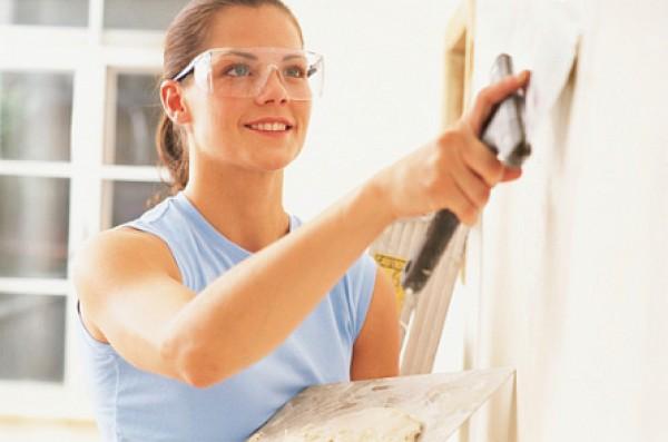 Этапы строительства — отделочные работы