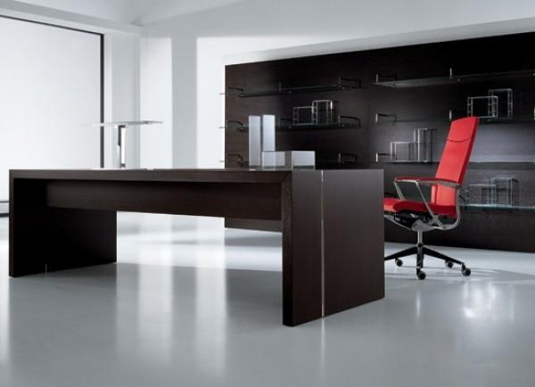 Интерьер кабинета офисного руководителя