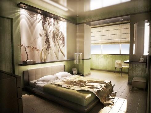 Интерьер квартиры с одной комнатой