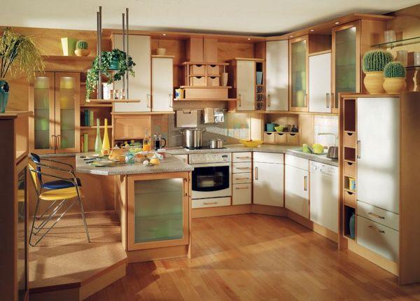 Интересные идеи для оформления кухни
