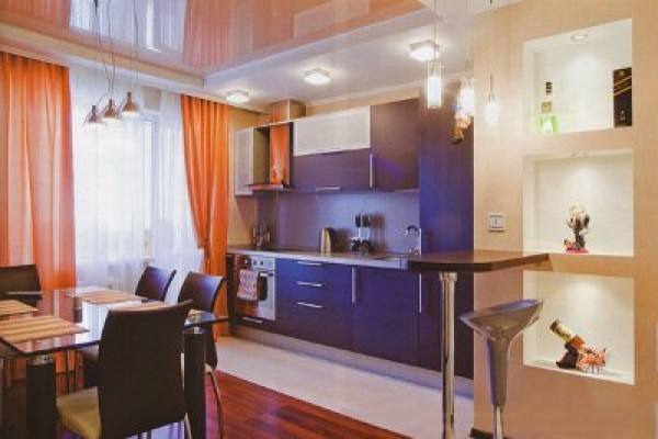 Как объединить кухню и комнату-столовую