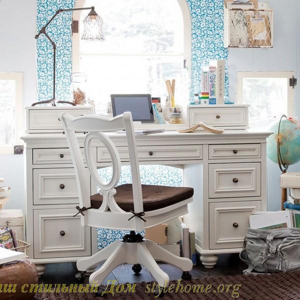 Как оформить рабочий уголок в детской комнате