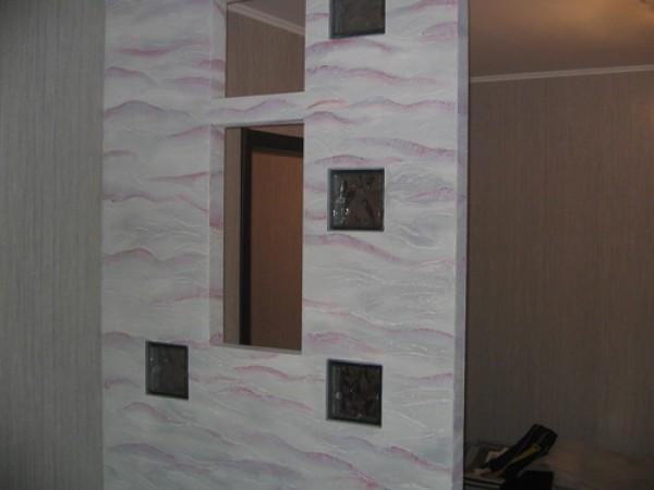 Как правильно делается декоративная отделка стен с помощью декоративной штукатурки