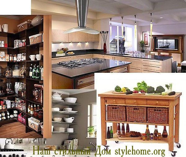 Как увеличить пространство в кухне, 5 советов