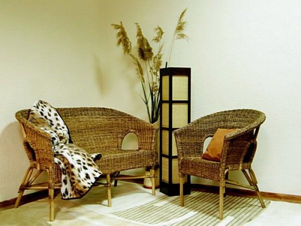 Какая бывает плетеная мебель для дома и дачи