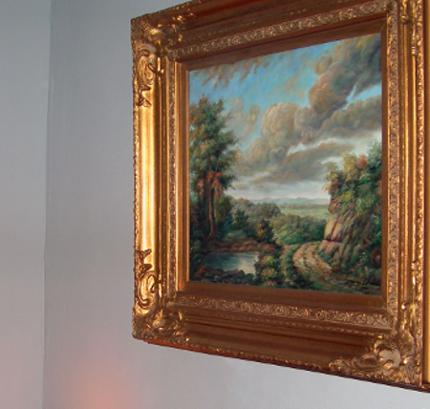 офомление интерьера картинами