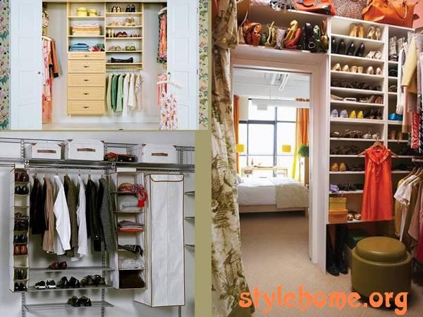 Конструкция гардеробных
