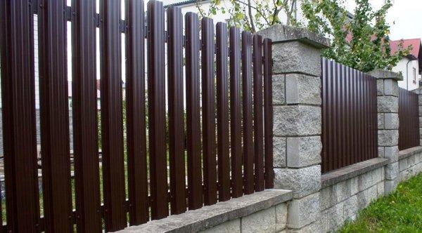 Крышки на забор — надежная защита | Наш стильный Дом