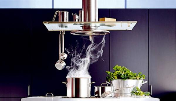 Кухонная вытяжка — принципы работы