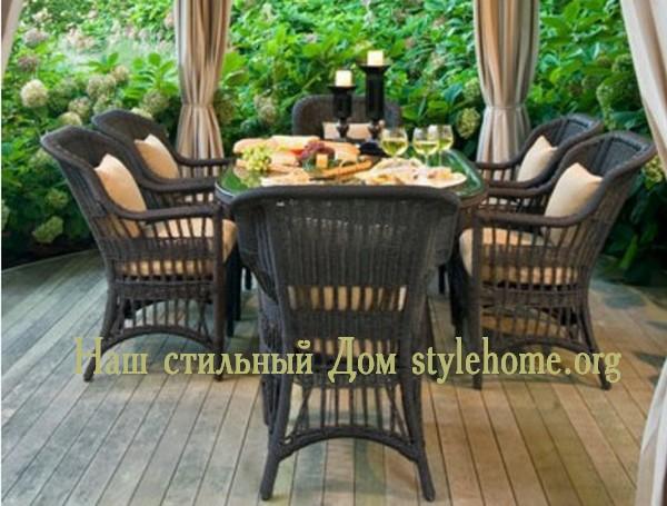 Мебель для сада и приусадебного участка