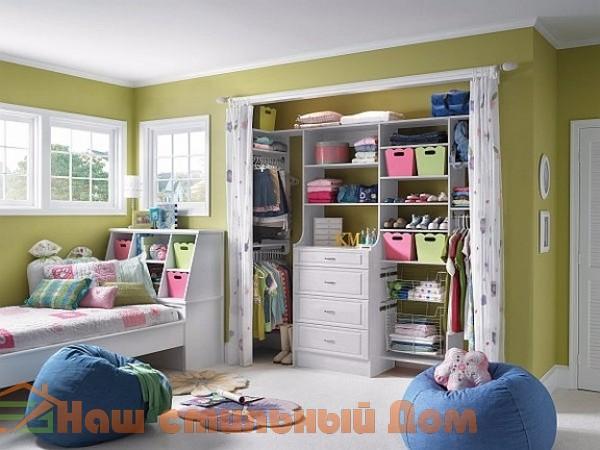 Многоуважаемый шкаф для детской комнаты | Наш стильный Дом
