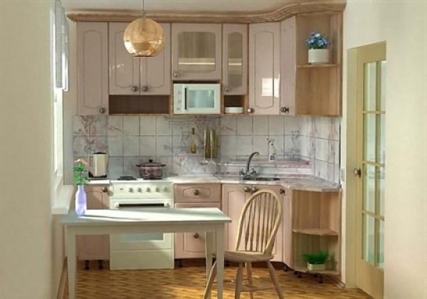 Небольшая кухня: как устроить рабочую зону на небольшой площади