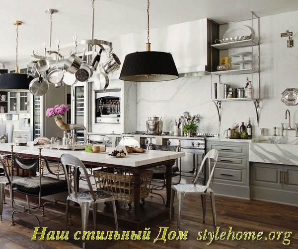 Новый интерьер кухни