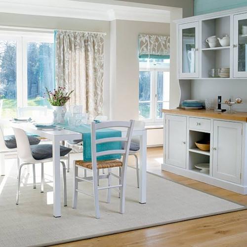 Объединяем столовую и кухню