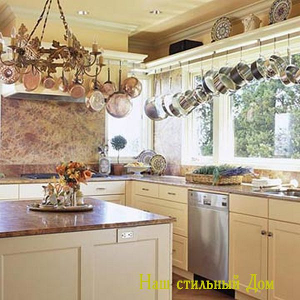 Организация пространства в кухне