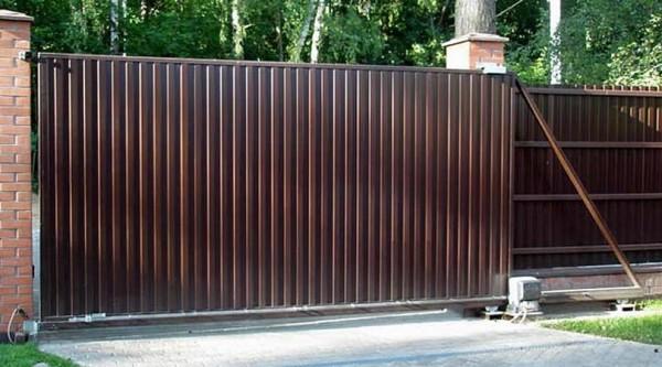 Откатные ворота — покупка, обслуживание, ремонт