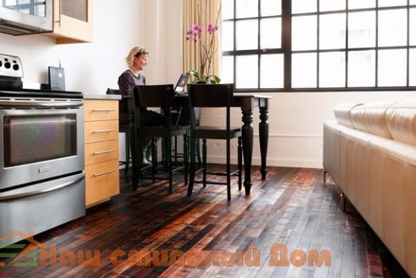 Отреставрированные деревянные полы — красиво и оригинально | Наш стильный Дом