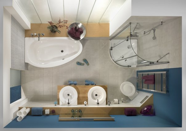Перепланировка и ремонт ванной комнаты: легко и просто