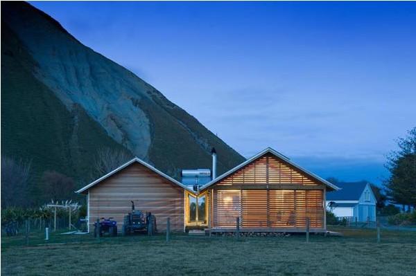 оригинальный деревенский дом
