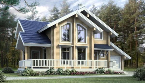 проект собственного дома из дерева