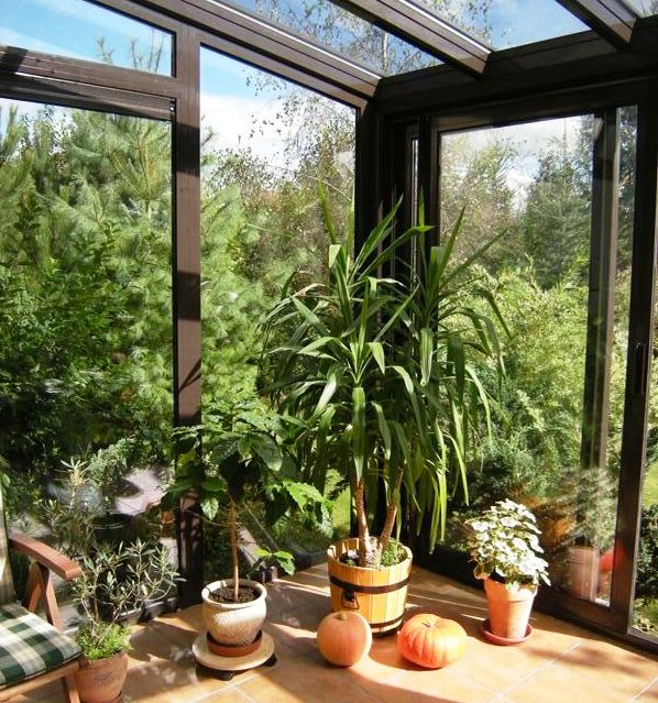 Зимний сад, система вентиляции