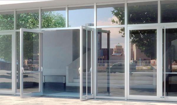 Алюминиевые двери от производителя