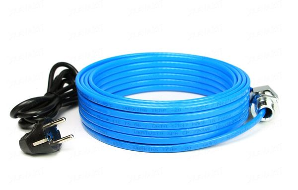 Греющий кабель для водопровода внутри трубы