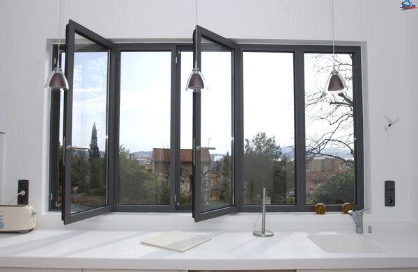 Качественные алюминиевые окна от завода-производителя EURSTROY