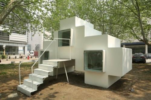 Креативный микро-дом в Китае