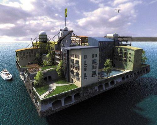 Морские города