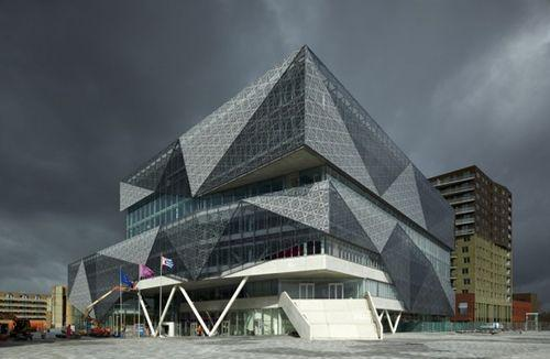 Проект городской мэрии Nieuwegein City Hall and Cultural Center