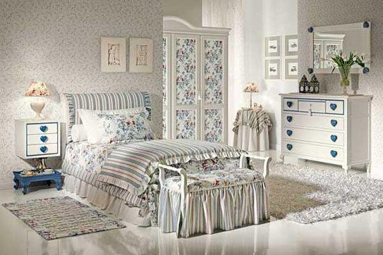 Стиль прованс в оформлении спальни