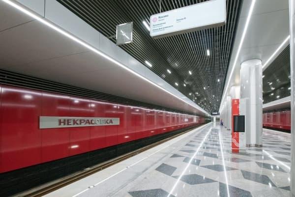 На Некрасовской ветки метро открыты четыре новые станции